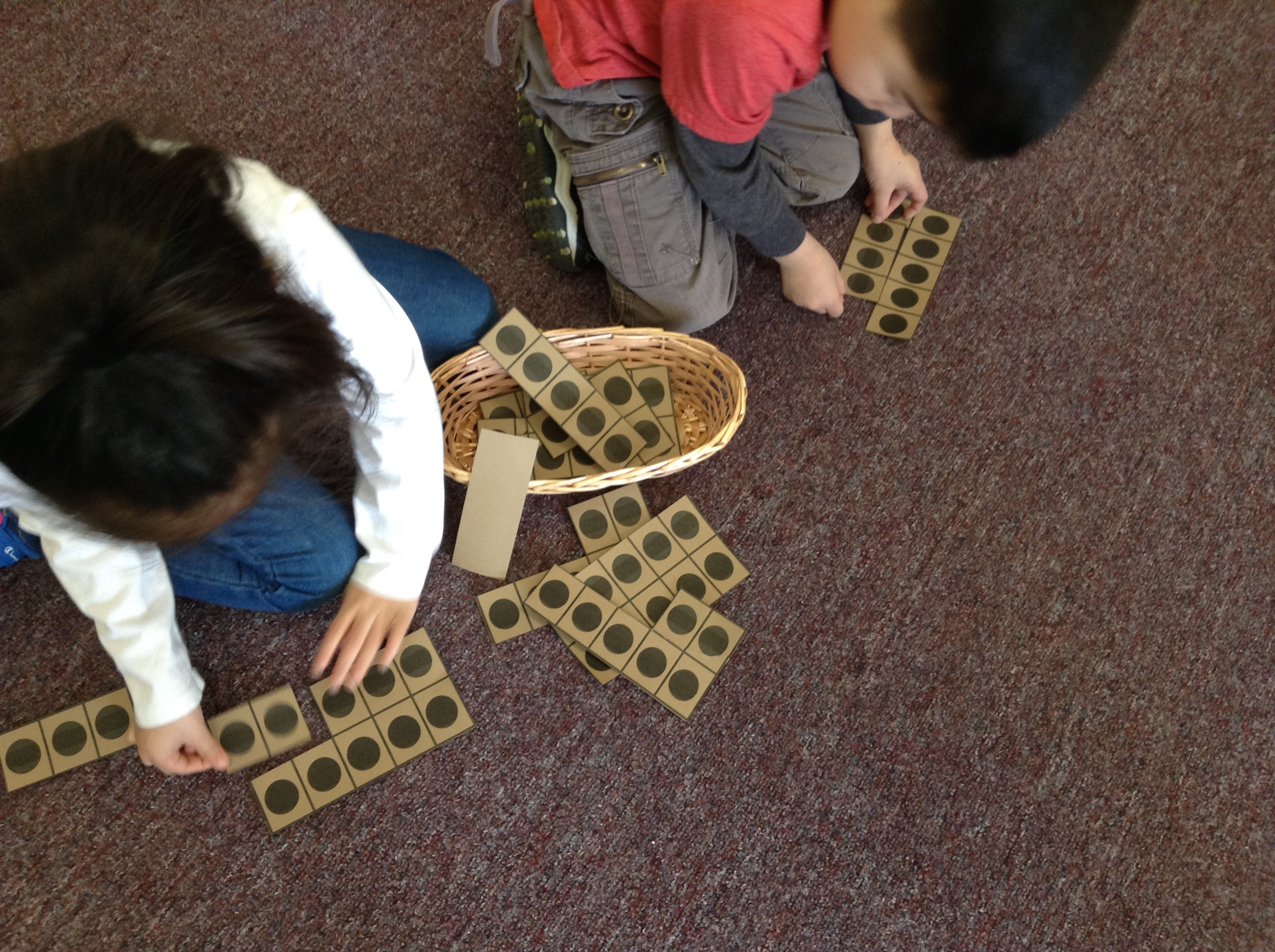 investigating number with a Kindergarten class at Diefenbaker ...