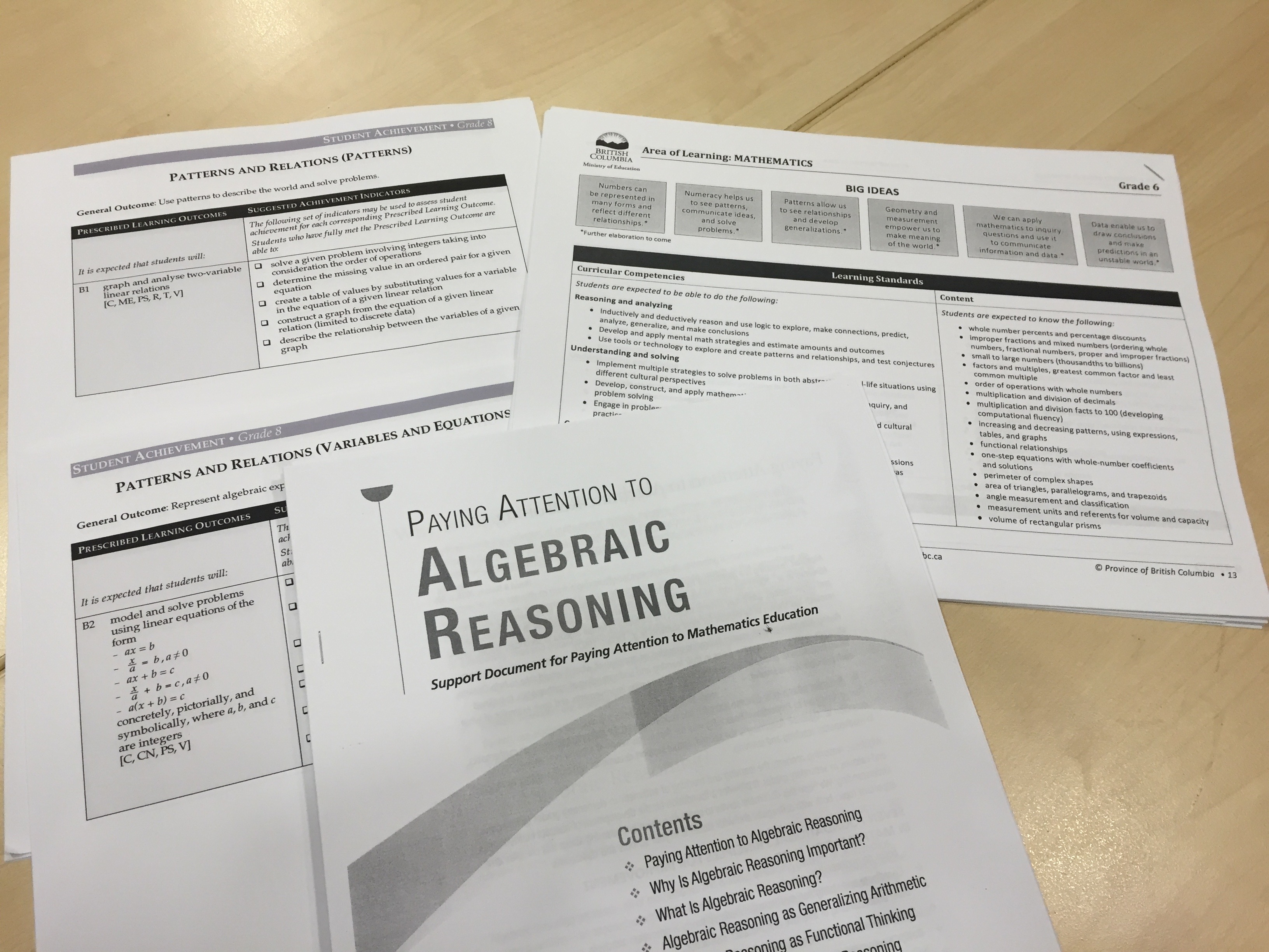 Inclusive Learning Communities Grade 8 Math At Boyd Year Two Mathematics And Science In Sd 38 Richmond [ 2448 x 3264 Pixel ]